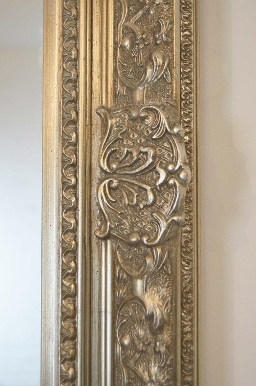 Merriott 127x102cm Silver Large Wall Mirror