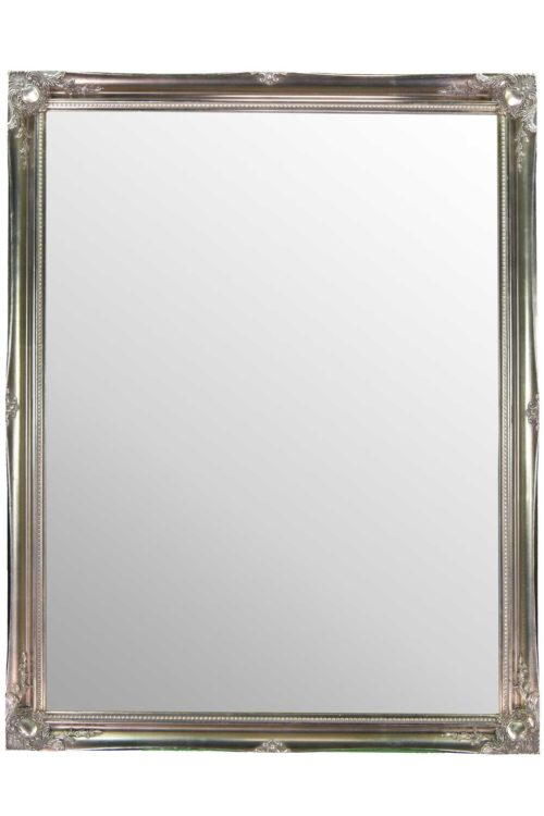 Cannington 137x107cm Silver Large Wall Mirror
