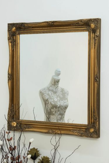 Cannington 76x66cm Gold Wall Mirror
