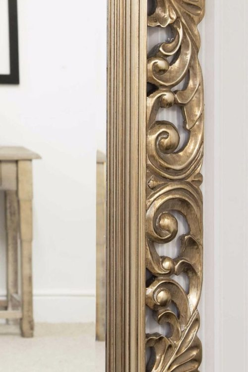 Raddington 122x91cm Champagne Large Wall Mirror