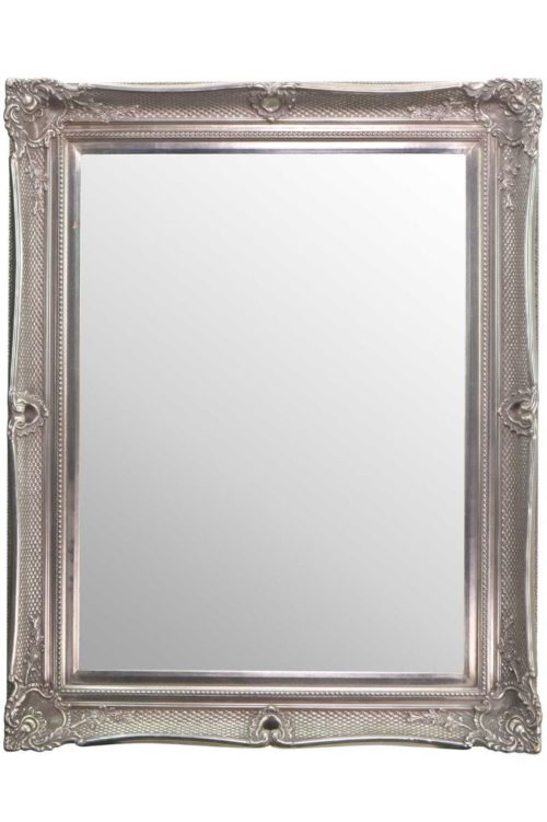 Shillingford 130x104cm Silver Large Wall Mirror