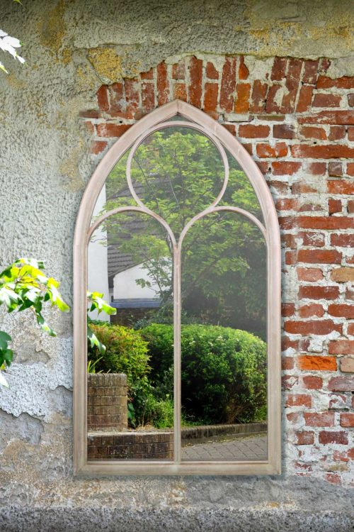 Selworthy 150x81cm Cream Large Garden Mirror