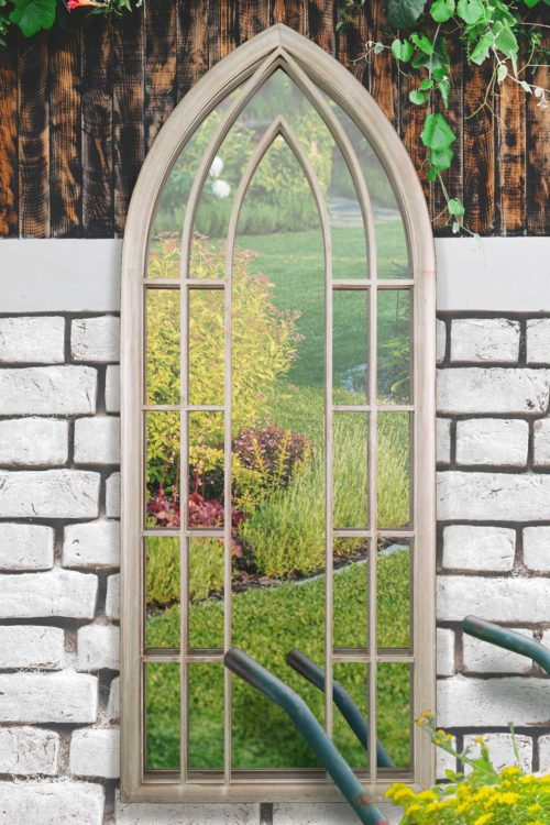 Copplestone 190x75cm Cream Extra Large Garden Mirror