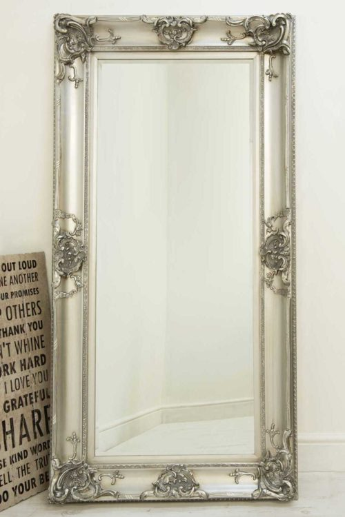 Winsford 183x91cm Silver Extra Large Full Length Mirror