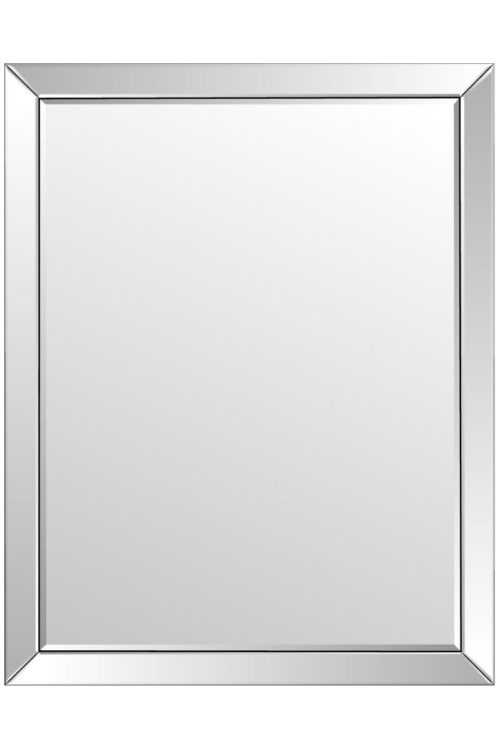 Puriton 137x108cm Frameless Large Wall Mirror