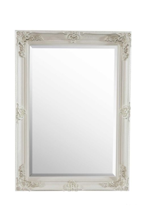 Langford 112x81cm White Wall Mirror