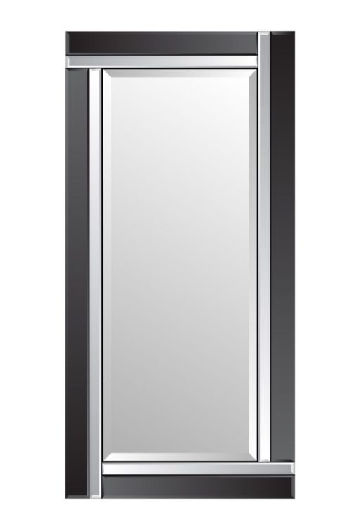 Clevedon 174x85cm Black Extra Large Full Length Mirror