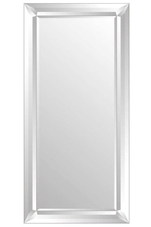 Amesbury 165x78cm Frameless Extra Large Full Length Mirror