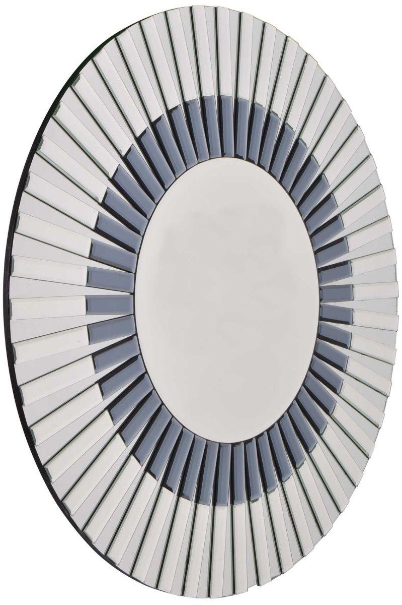 Ruishton 80x80cm Frameless Round Mirror