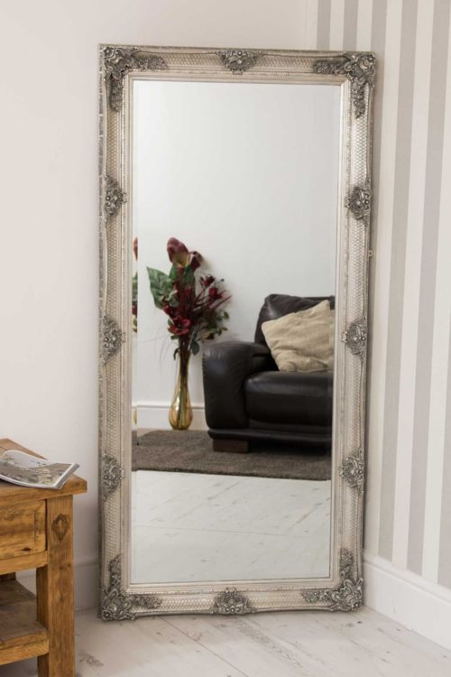Langford 168x78cm Silver Extra Large Full Length Mirror
