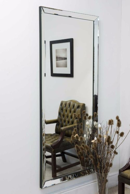 Wilmington 178x76cm Frameless Extra Large Full Length Mirror