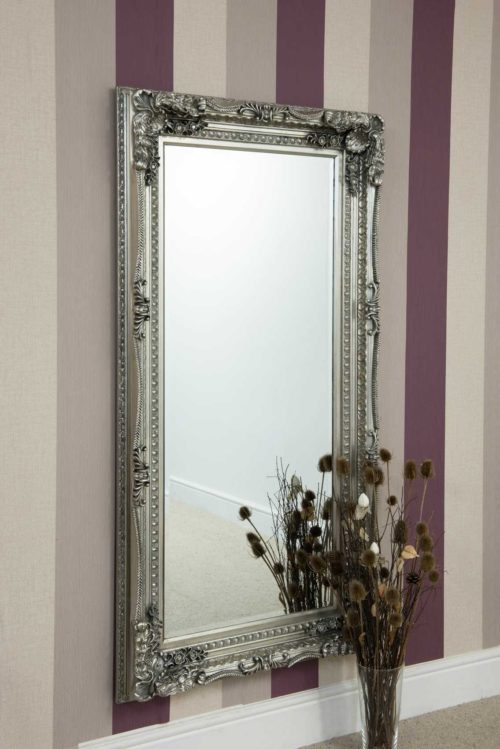 Bossington 175x89cm Silver Extra Large Full Length Mirror