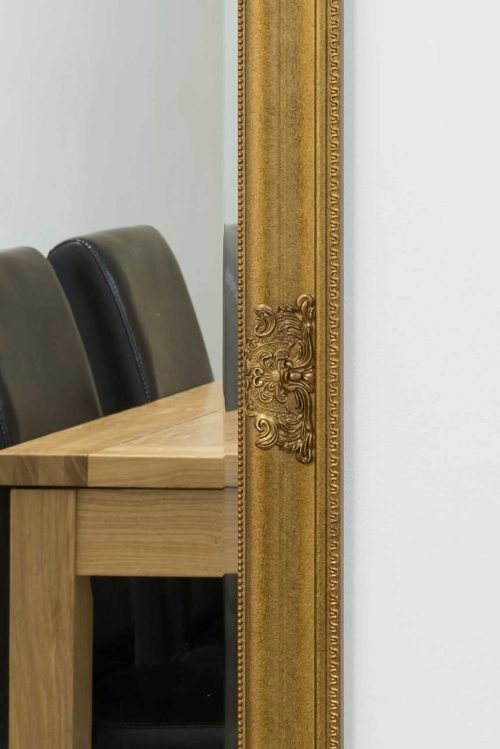 Tremaine 160x73cm Gold Extra Large Full Length Mirror