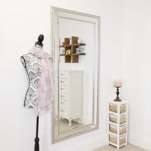 Cheriton 170x84cm Silver Extra Large Full Length Mirror