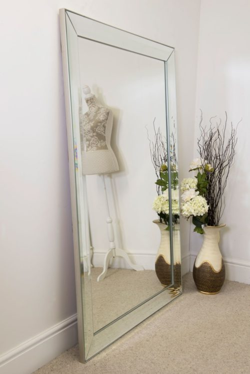 Amesbury 172x111cm Frameless Extra Large Leaner Mirror