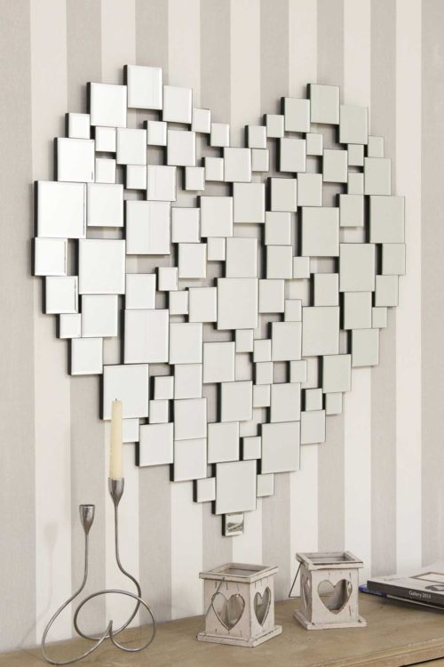 Heartland Mosaic 81x80cm Frameless Wall Mirror
