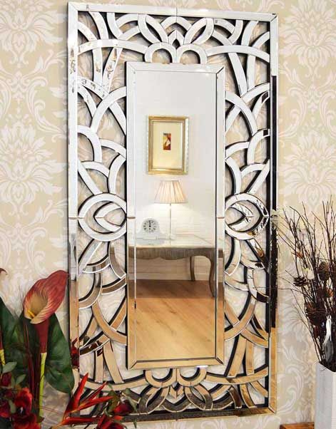 Fitzroy 150x75cm Frameless Large Wall Mirror