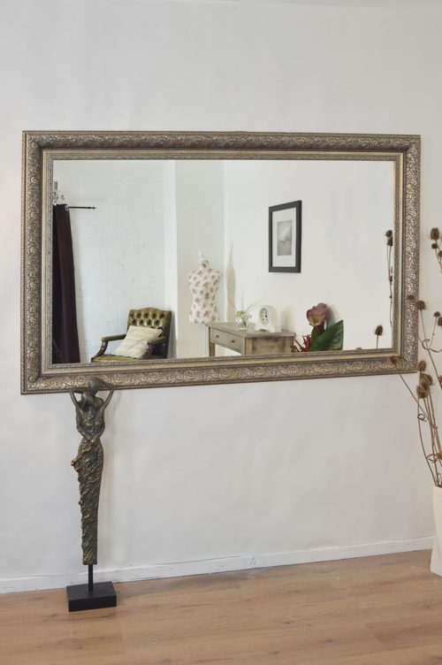 Thorney 178x117cm Silver Extra Large Leaner Mirror