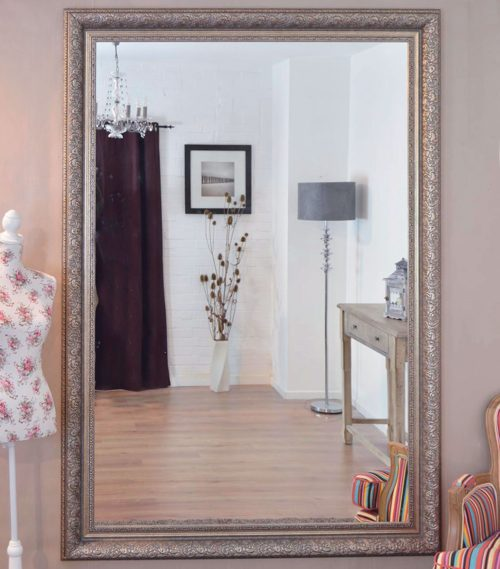 Thorney 208x147cm Silver Extra Large Leaner Mirror