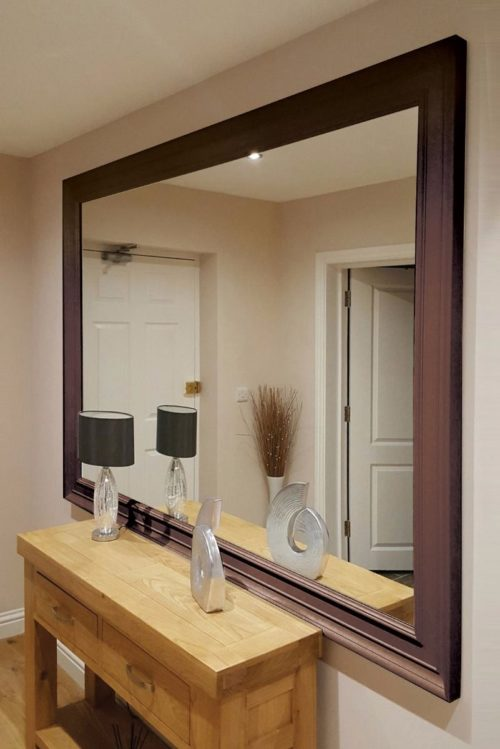 Williton 206x145cm Brown Extra Large Leaner Mirror