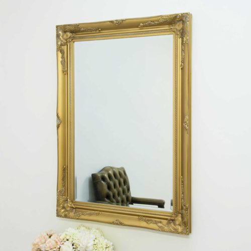 Monksilver 110x79cm Gold Wall Mirror