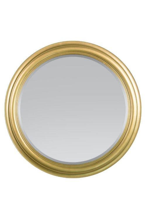 Holcombe 96x96cm Gold Round Mirror