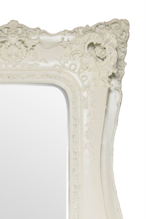 Weycroft 182x90cm White Extra Large Full Length Mirror