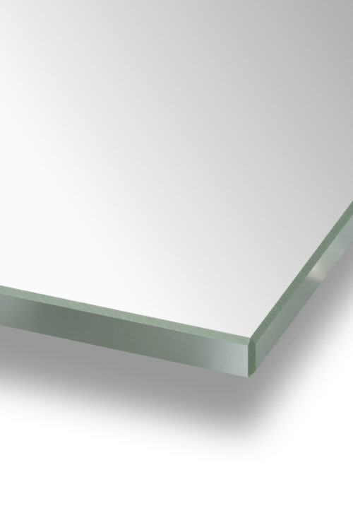Polished Edge 6mm Mirror Glass