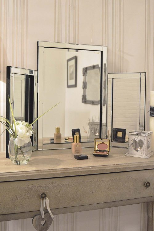 Alcombe 77x56cm Frameless Dressing Table Mirror