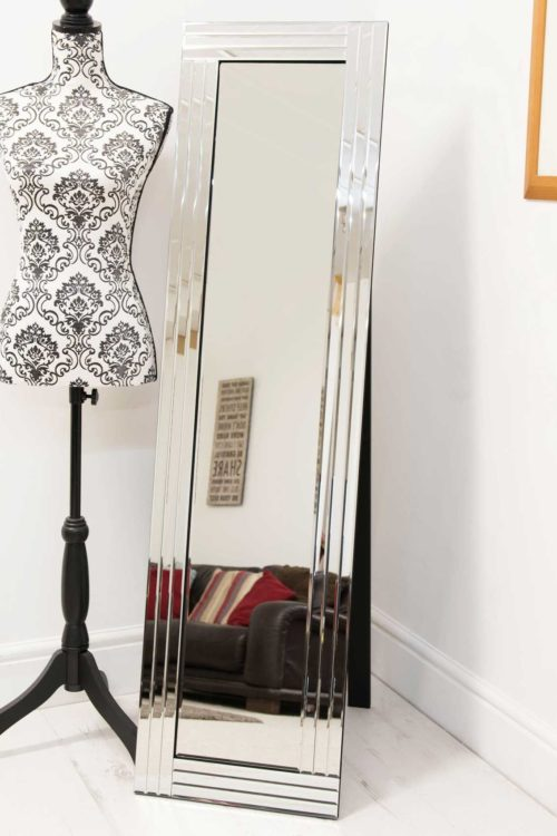 Lynmouth 150x40cm Frameless Large Free Standing Mirror