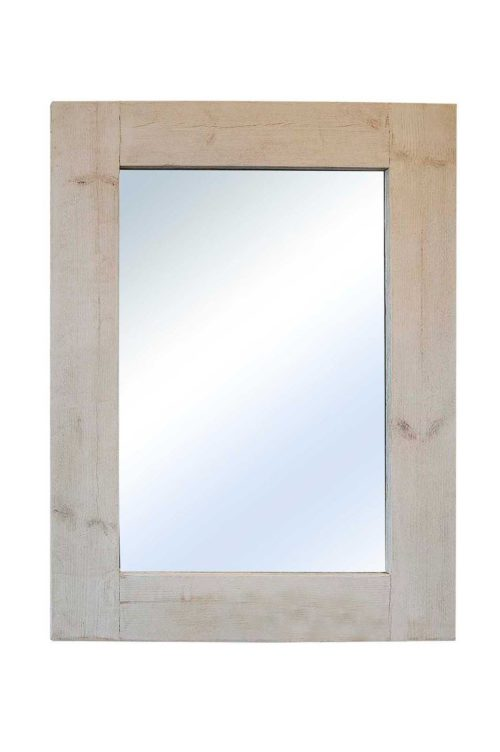 Sandford 122x91cm Light Natural Wood Large Mirror