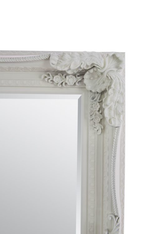 Bossington 185x123cm Ivory Extra Large Leaner Mirror