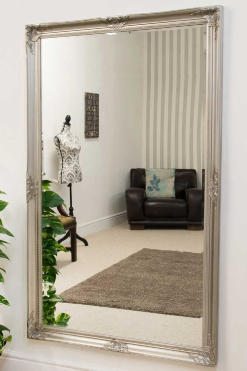 Marlborough 168x107cm Silver Extra Large Full Length Mirror