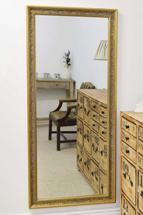 Sherbourne 160x73cm Gold Extra Large Full Length Mirror