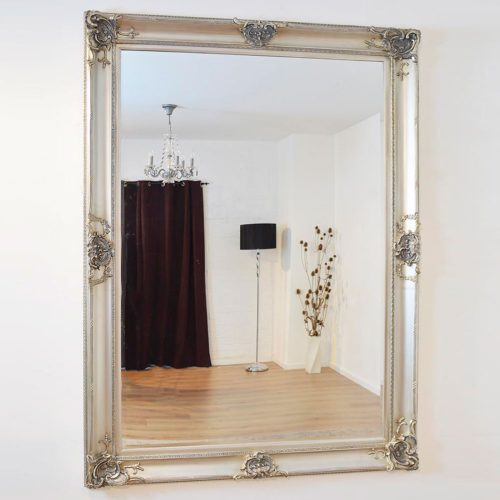 Winscombe 213x152cm Silver Extra Large Leaner Mirror
