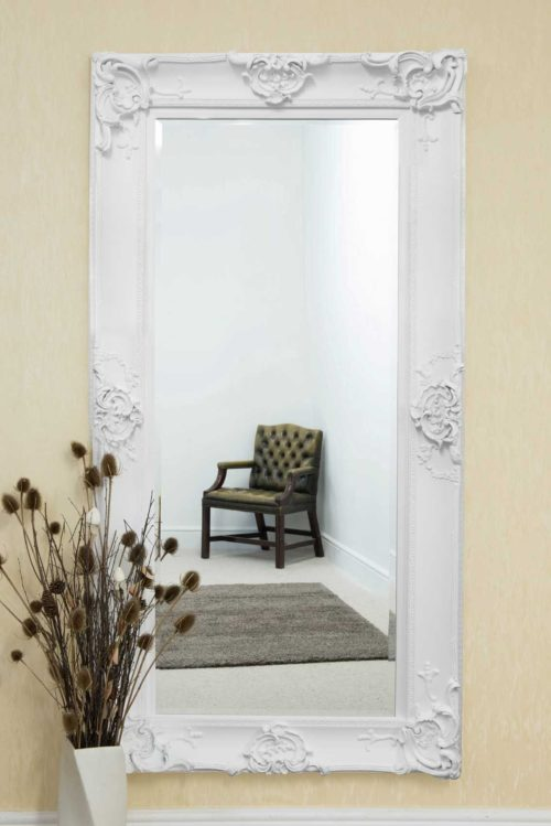 Winsford 183x91cm White Extra Large Full Length Mirror