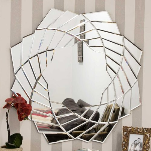 Glastonbury 90x90cm Frameless Wall Mirror