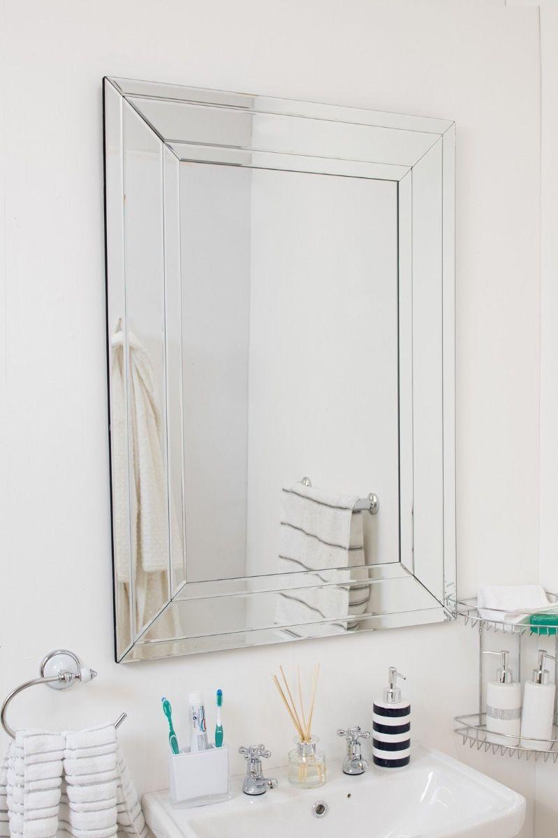 Salisbury 100x70cm Frameless Wall Mirror