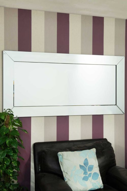 Puriton 174x84cm Frameless Extra Large Full Length Mirror