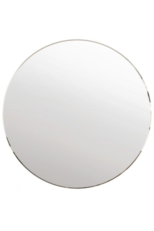 Clovelly 100x100cm Frameless Round Mirror